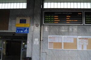 V Prešove na stanici.