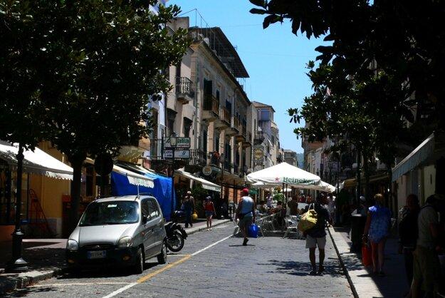 V centre mesta