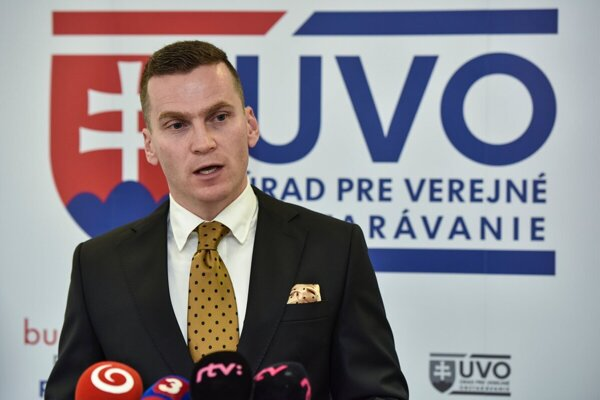 Predseda Úradu pre verejné obstarávanie Miroslav Hlivák.
