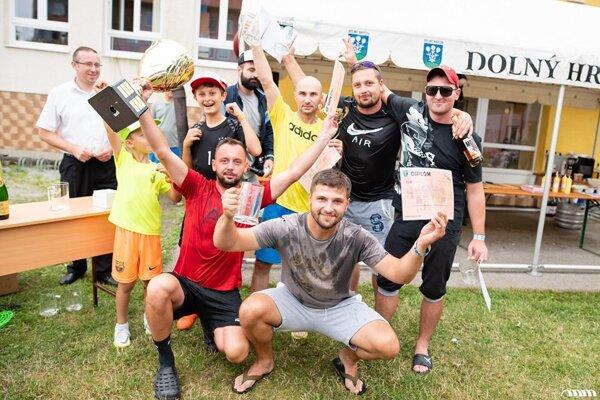 V Dolnom Hričove zvíťazil tím XXX.