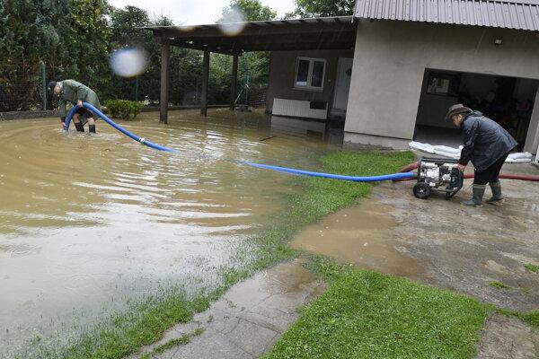 Boj s veľkou vodou v Kapušanoch.