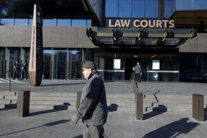 Budova súdu v Christchurchi.