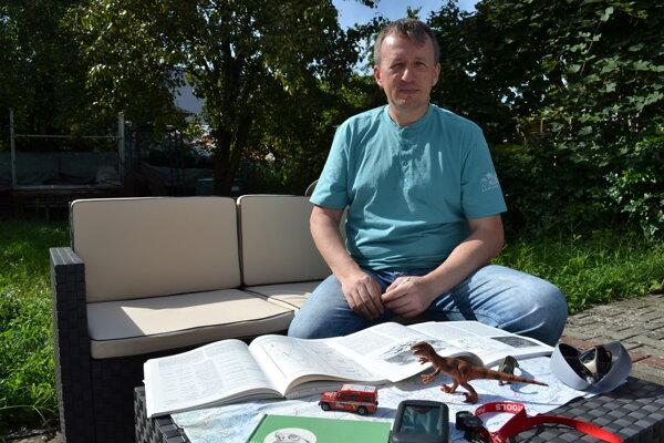 Paleontológ Martin Kundrát sa chystá na expedíciu do Číny.
