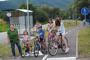 Nový cyklochodník Sabinov - Drienica.