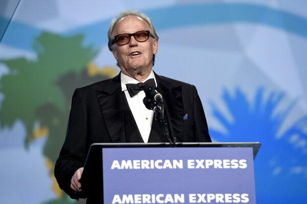 Peter Fonda na snímke z 2. januára 2018.