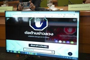 Thajská vláda plánuje zriadiť centrum na boj proti neovereným správam na sociálnych médiách.