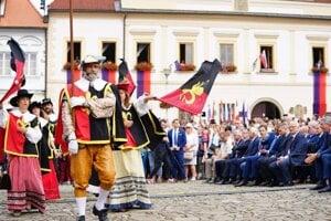 Otvorenie Bardejovského jarmoku.