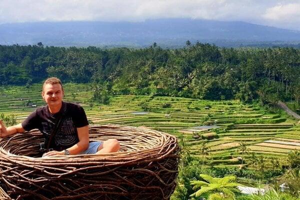 Marián Hromník na Bali.