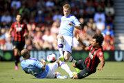 Zápas medzi Manchesterom City a Bournemouthom.