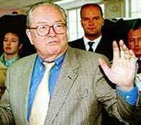 jean-marie le pen><br><br> <p>európsky súdny dvor ho totiž v piatok oslobodil od rozhodnutia predsedníčky ep nicole fontainovej, ktorá mu odobrala možnosť vykonávať svoj poslanecký mandát v októbri minulého roku po tom, čo bol le pen trestne stíhaný vo francúzsku. </p> <p>