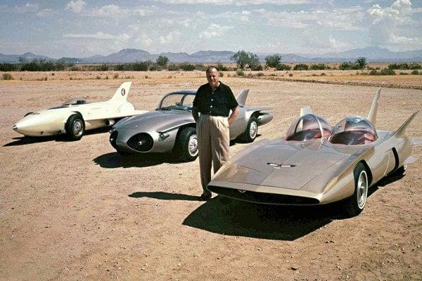 Koncepty General Motors Firebird z rokov 1954-1959.