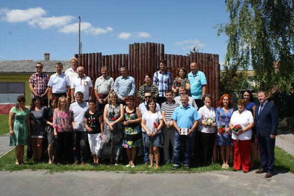 Stretnutie dobrovoľníkov adarcov krvi vOslanoch.