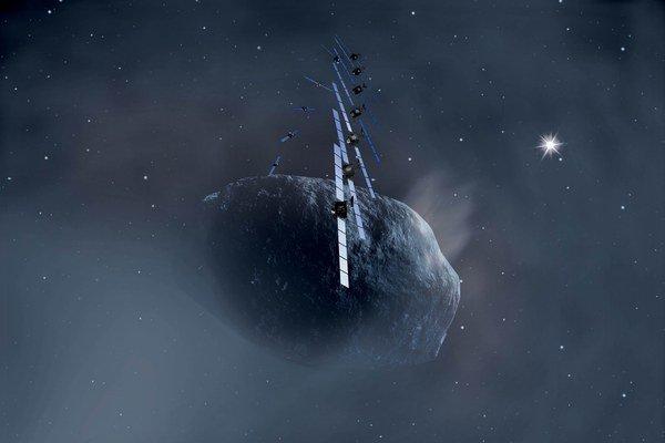 Európska vesmírna agentúra poslala ku kométe sondu Rosetta. Budúci rok sa misia pokúsi pristáť.