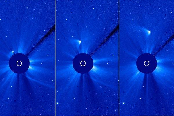 Prvé snímky naznačovali, že kométa ISON mohla prežiť. No potom začala pohasínať.