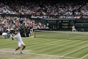 Steiner veril, že Roger Federer premení mečbaly a vyhrá Wimbledon.