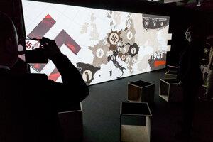 Otvorenie novej, digitálnej expozície v Múzeu SNP  pri príležitosti osláv 75. výročia SNP v Banskej Bystrici.