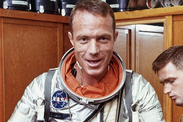 Carpenter bol jeden z prvých vesmírnych pionierov.