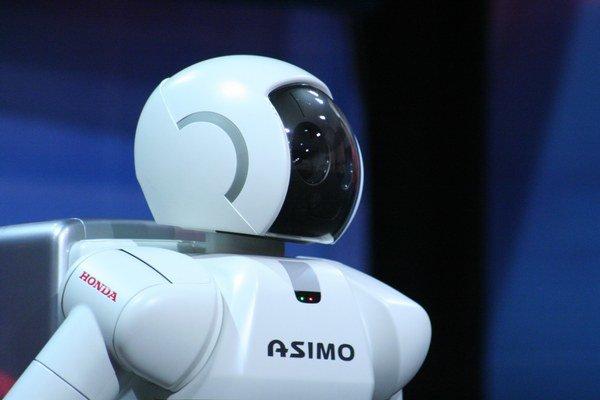 Robot ASIMO.
