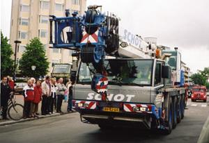 Prehliadka najmodernejšej hasičskej techniky v holandskom Hoogeveene.
