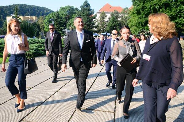 Predseda Národnej rady Slovenskej republiky Andrej Danko.