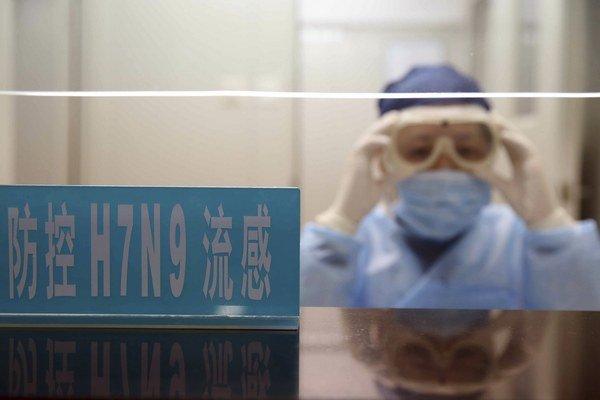 Zdravotníci sa boja novej chrípky, vírusu H7N9 z Číny.