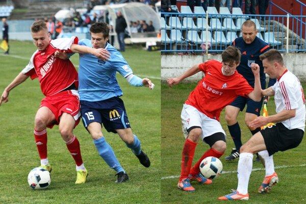 Futbalisti Nitry a Serede budú hrať v skupine o postup, Šaľania o záchranu.
