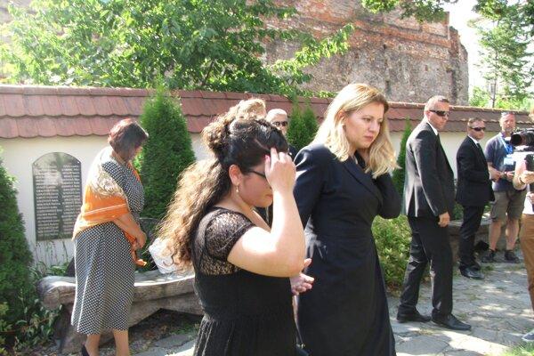 Výstavu si prišla pozrieť aj prezidentka Zuzana Čaputová