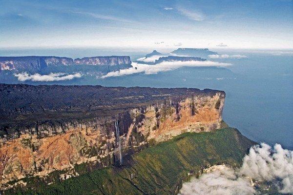 Stolové hory sú izolované ostrovčeky exotického života.