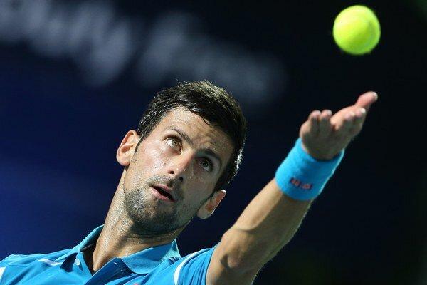 Novak Djokovič nedal svojmu súperovi žiadnu šancu.