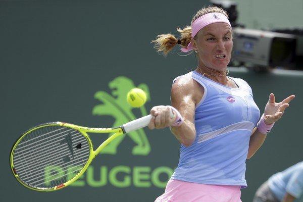 Svetlana Kuznecovová dokázala vybojovať veľmi cenné víťazstvo.