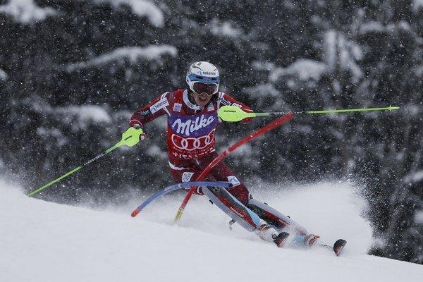 Henrik Kristoffersen potvrdil ohromnú slalomovú formu.