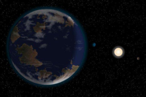 Na planéte HD 40307 g by mohla tiecť voda. Podľa súčasných poznatkov to je jedna z podmienok na existenciu života.