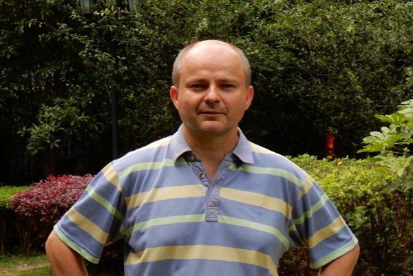 Michal Štrba, bývalý obchodný vyslanec SR v Šanghaji