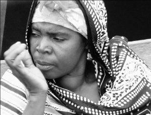 Nahé čierne africké ženy