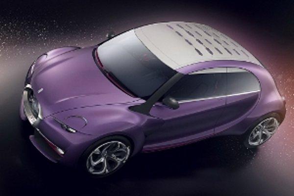 Štúdia Citroën REVOLTe Concept z roku 2009.