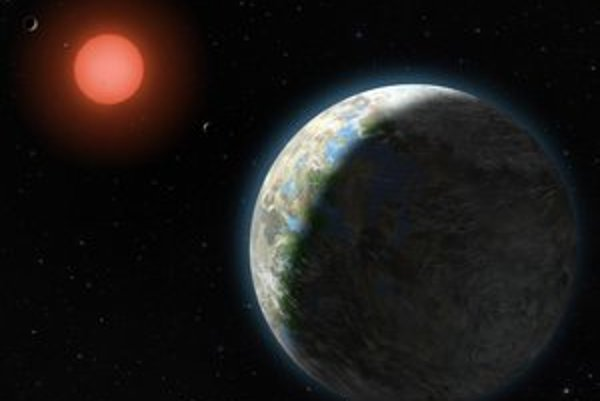 Planetárny systém Gliese 581.