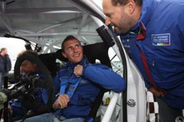 Matthew Wilson je po testovacích kilometroch s Fiestou S2000 spokojný.