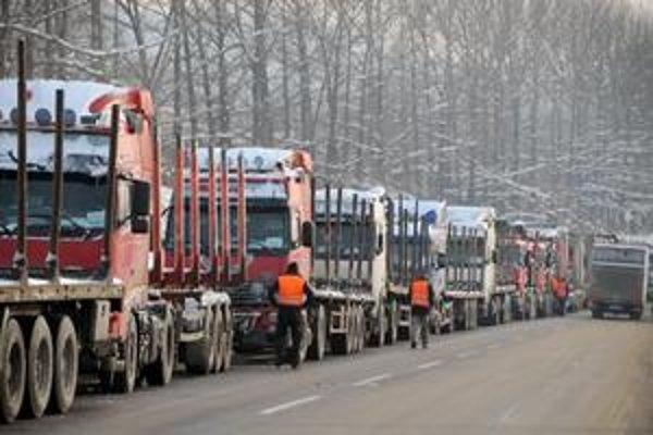 Kamionisti opäť štrajkujú.
