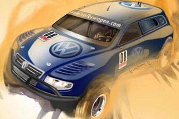 Volkswagen Touareg TDI Trophy Truck je vlastným projektom spoločnosti Volkswagen of America.