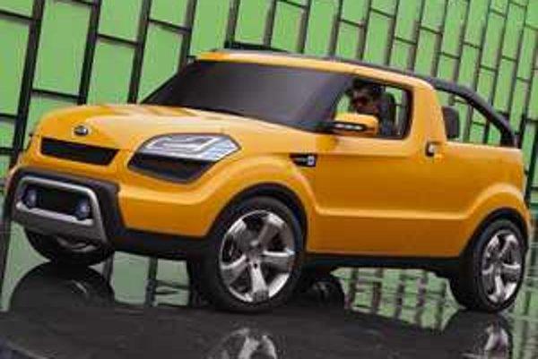 Kia Soulster nám vzdialene pripomína kedysi populárne auto na voľný čas - Škodu Felicia Fun
