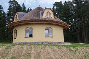 Materská škola v lese v lokalite Krásne Sady Mlynica.