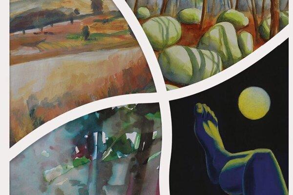 Vernisáž výstavy Maľujúca rodina sa začne vo Výmenníku Štítová o 17.00 hod.