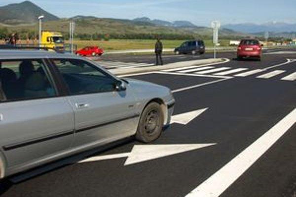 Križovatka pri Liskovej je po rekonštrukcii bezpečnejšia.