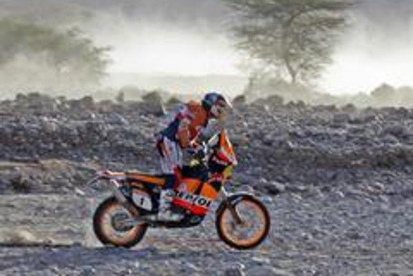 Španiel Marc Coma, momentálne vedúci jazdec v kategórii motocyklov