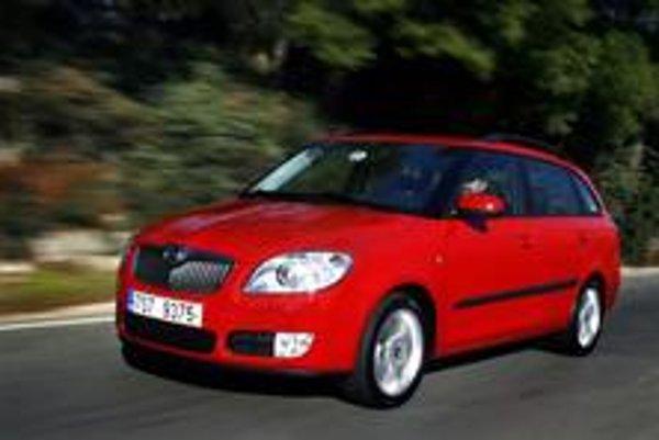 Škoda Fabia Combi vyzerá  vyváženejšie ako  základný model.