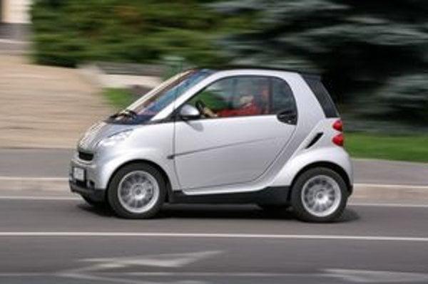 S malým autom sa  v meste ľahko manévruje a má nízku spotrebu.