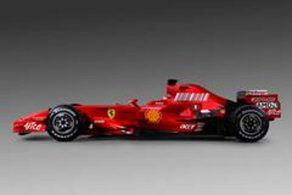 Nový monopost Ferrari pre rok  2008