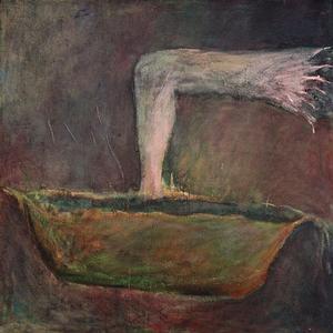 ivan csudai: kúpeľ, olej na plátne (1989).