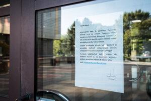 Oznam o ukončení prevádzky reštaurácie a kongresového centra Technopol.