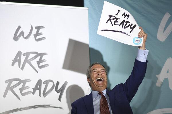 Nigel Farage je pripravený.